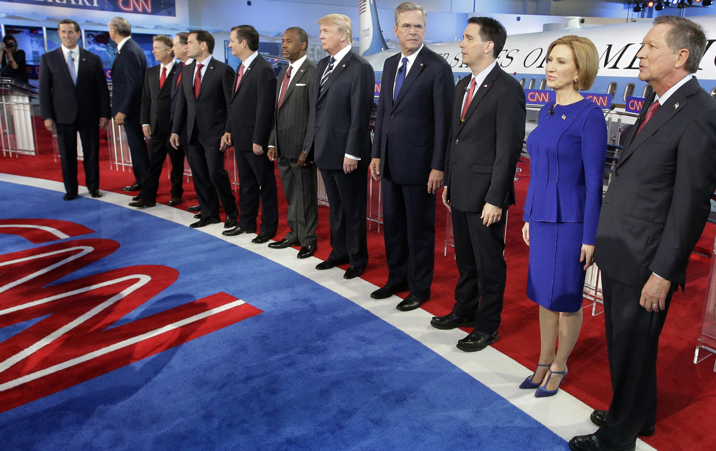 Republican presidential candidates.