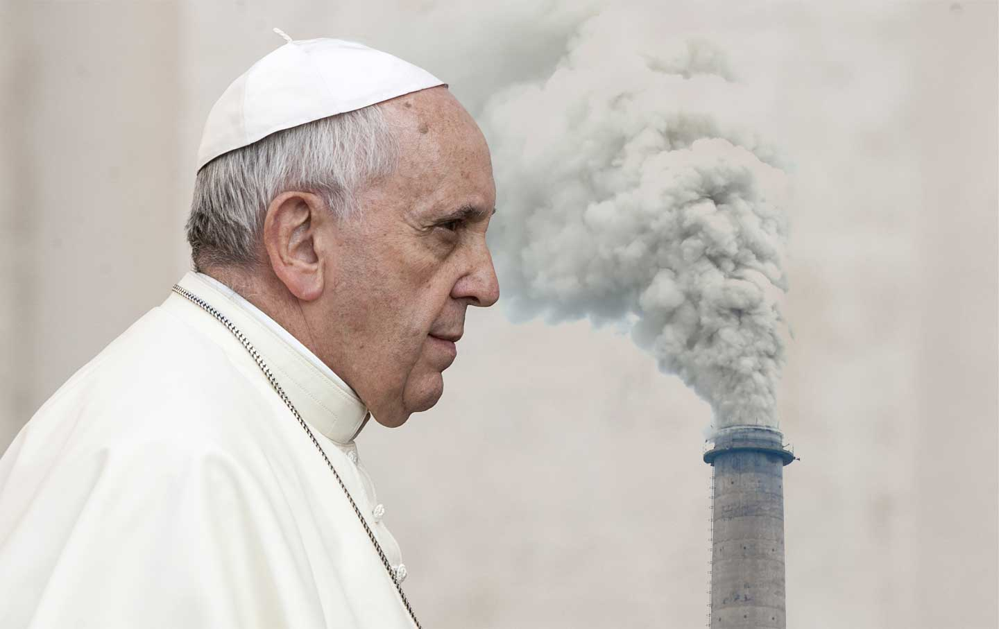 Pope Francis confronts the environmental crisis.