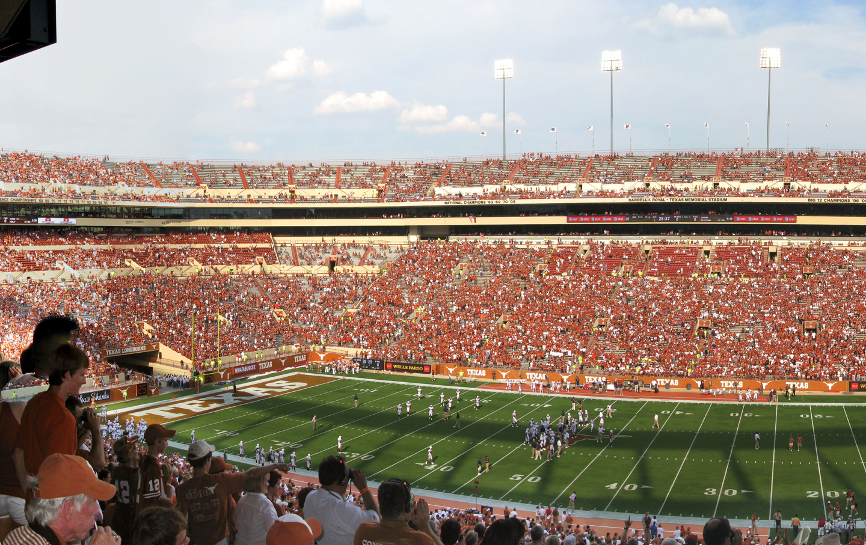 Texas Memorial Stadium, University of Texas at Austin.