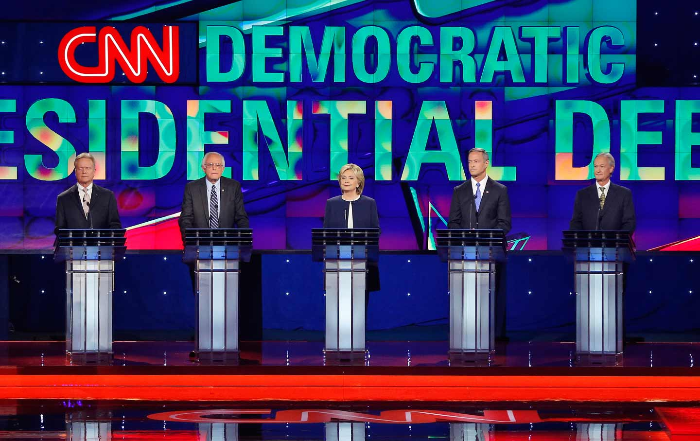 Democratic presidential debate Las Vegas