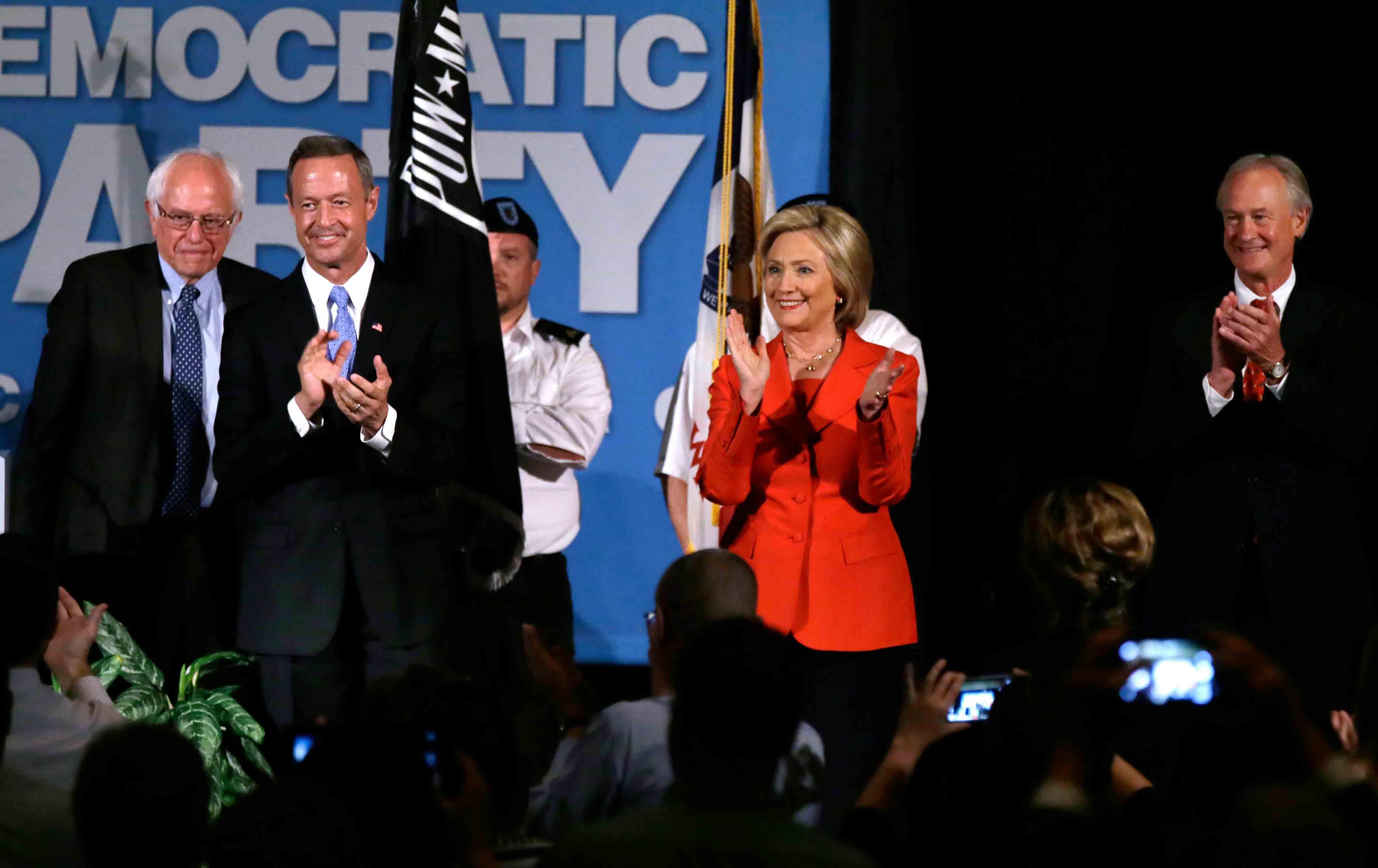 Democrat candidates