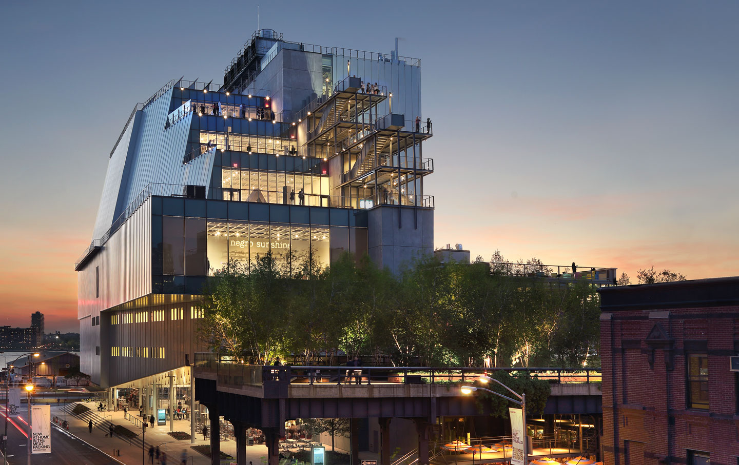 Why has criticism of the whitney been unmoored the nation for The whitney
