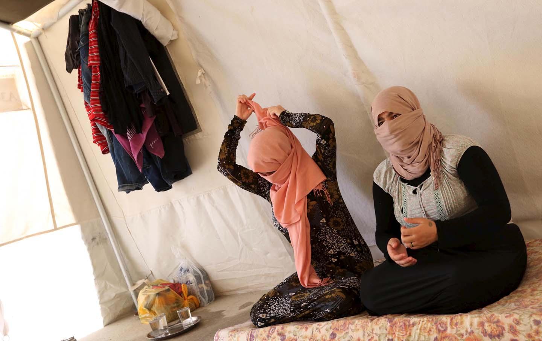 Yazidi sisters