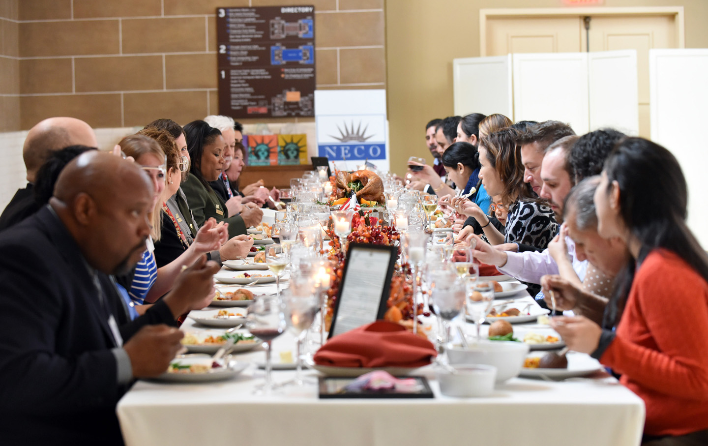 Ellis Island Thanksgiving hosted by National Ethnic Coalition of