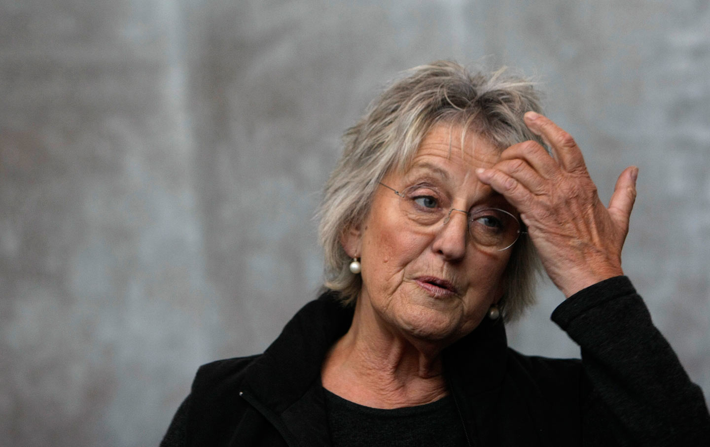 Germaine Greer speaks at the Melbourne Writers Festival.