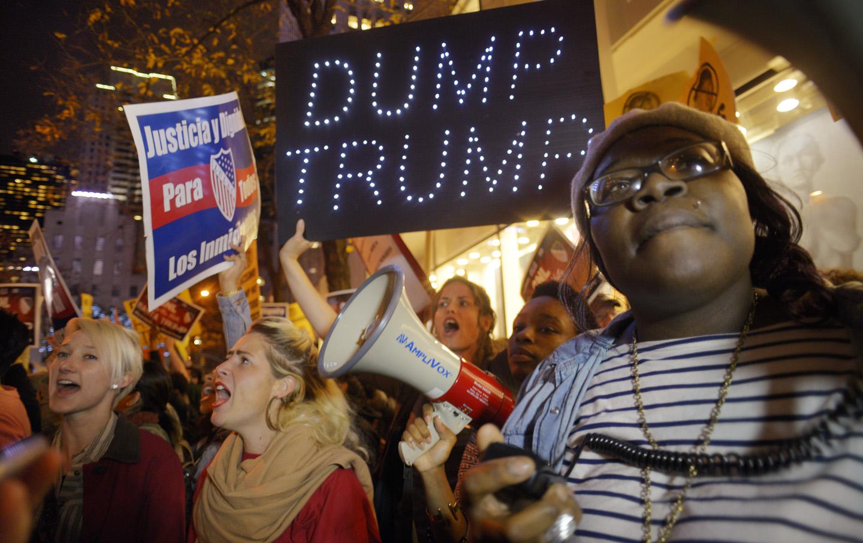 ... Donald Trump's hosting Saturday Night Live. (AP Photo / Patrick Sison