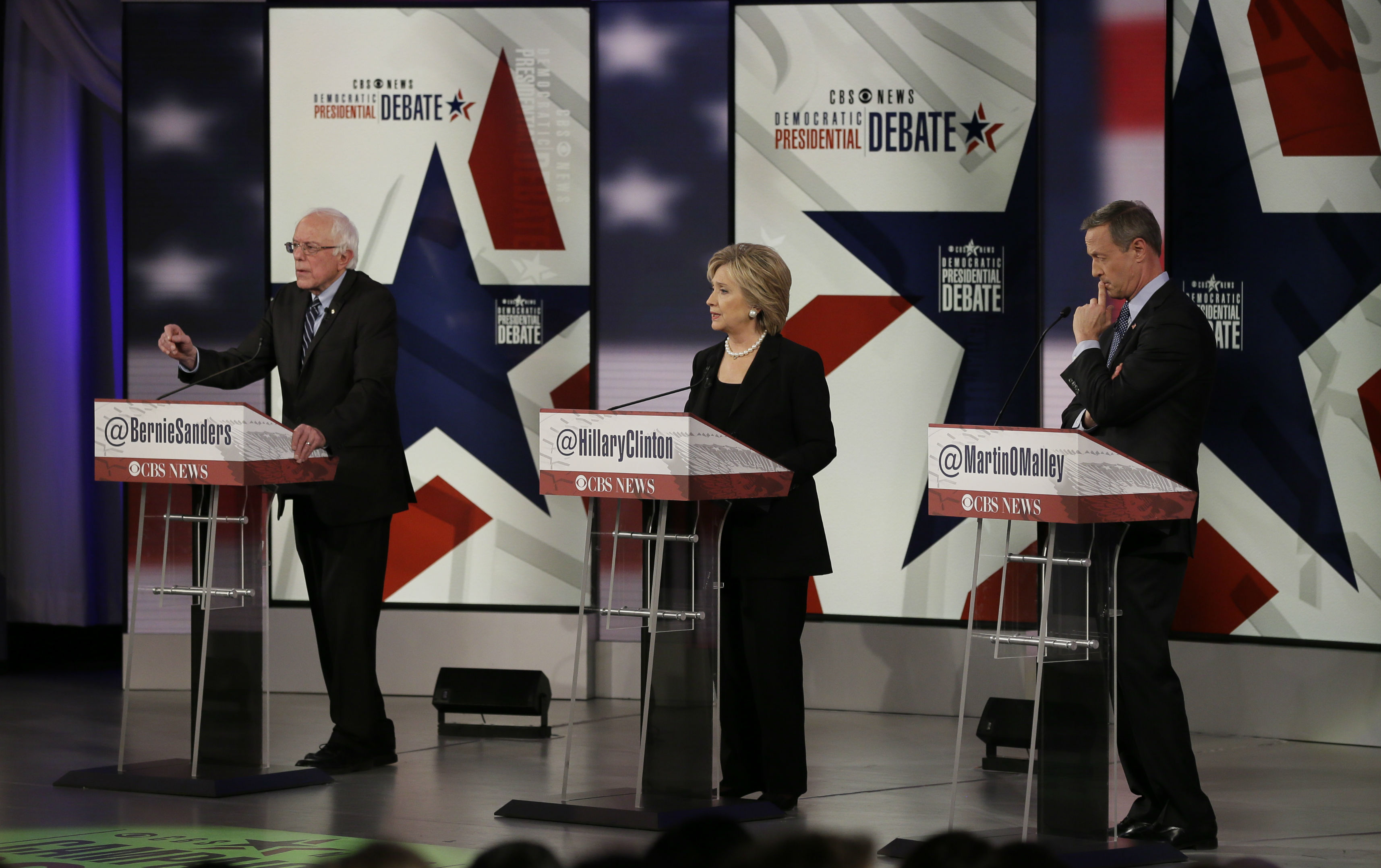 The second Democratic presidential primary debate