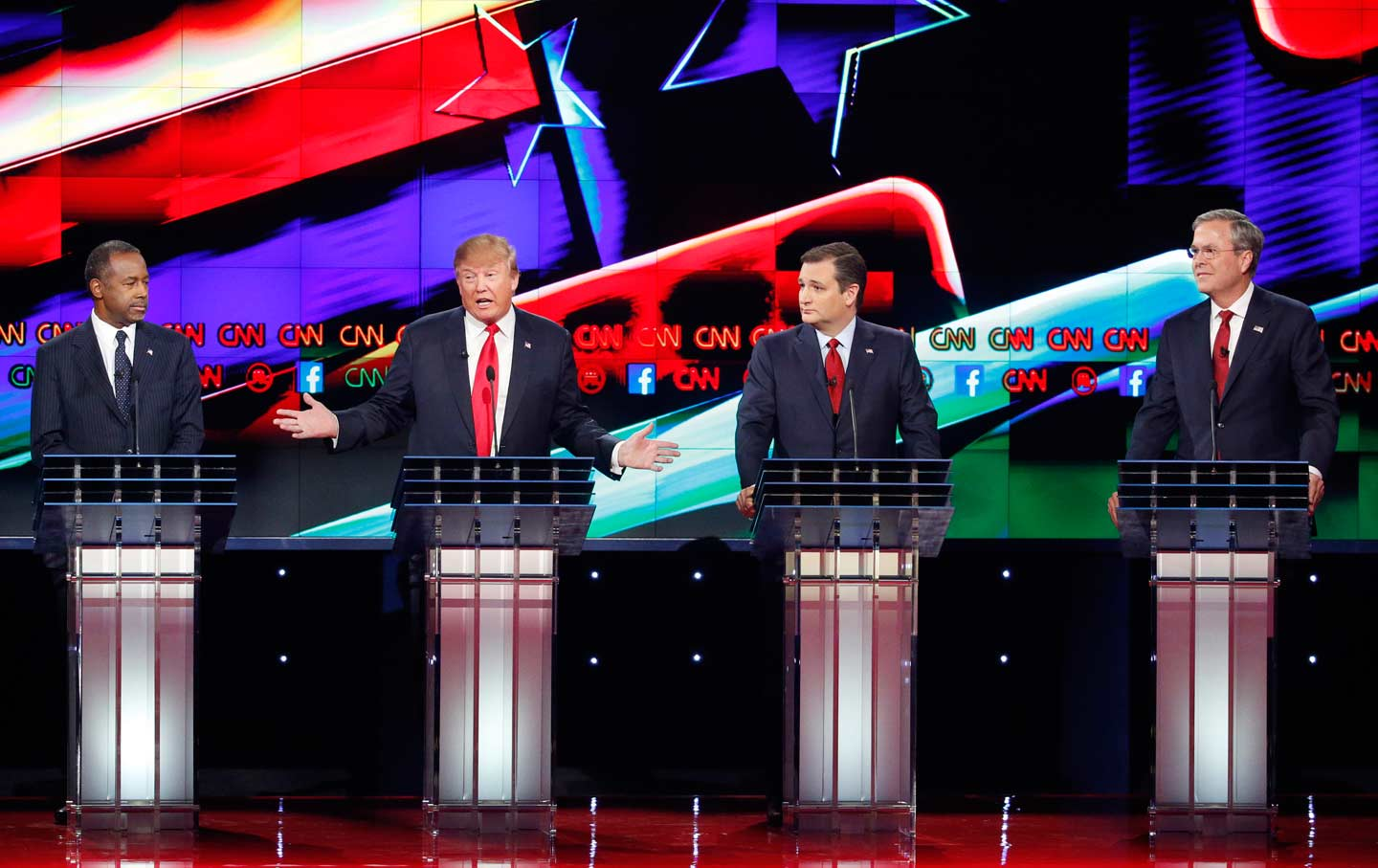 debate 1 The debate was moderated by lester holt of nbc news and came as polls both nationally and in swing  she's going to raise taxes $13 trillion holt: mr trump, i'm going to trump: and look at .