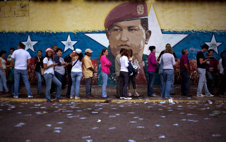 Venezuela polling station