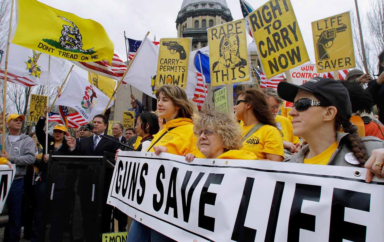 Guns Save Life rally