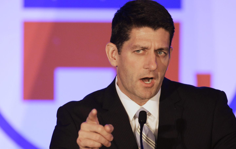 Paul Ryan, Speaker of the House.
