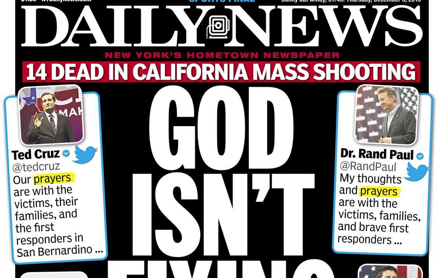 the new york daily news takes on the nra the nation