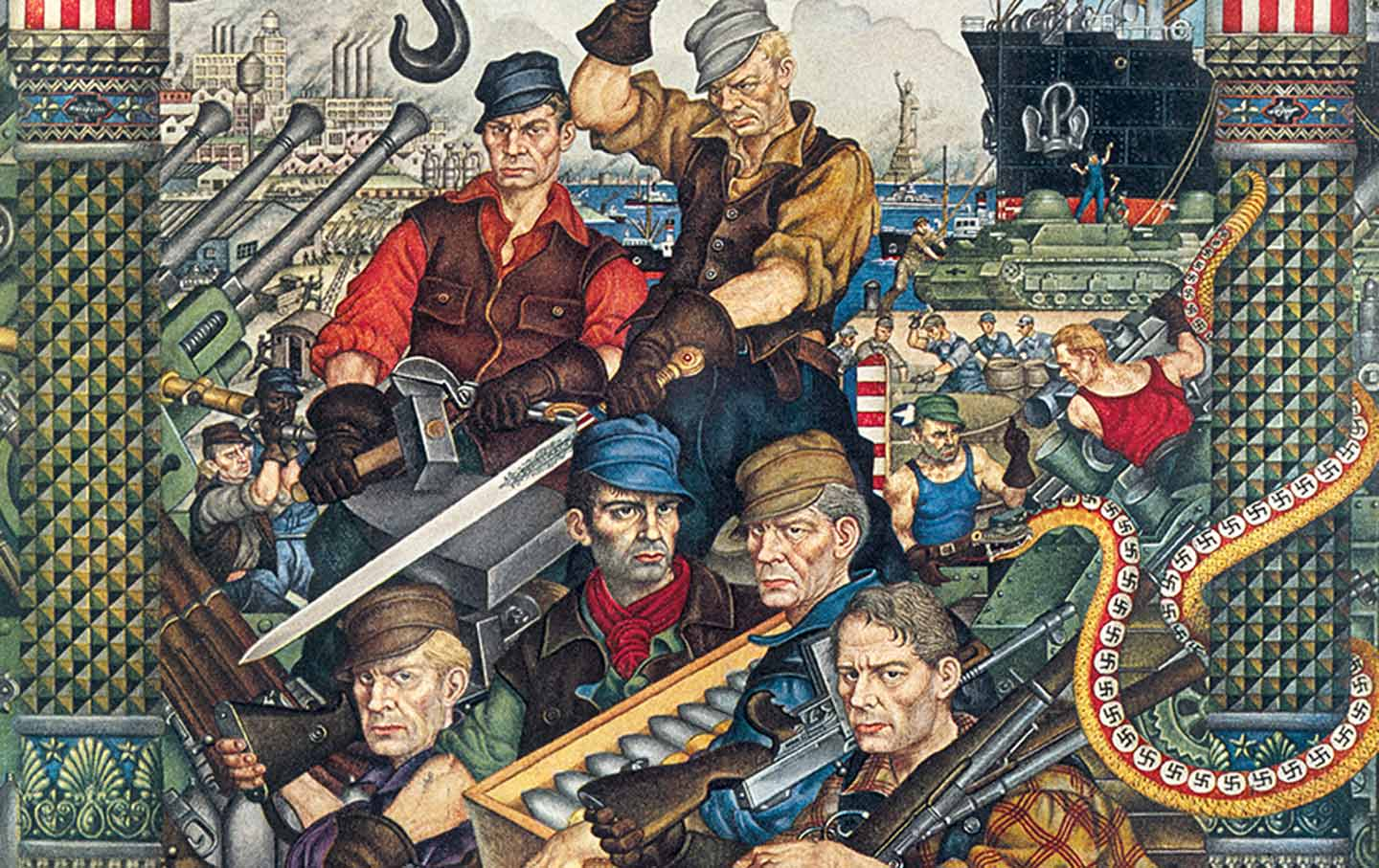 1-Szyk.-Arsenal-of-Democracy-(as-reproduced-in-Collier's,-September-12,-1942)_img