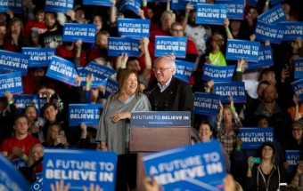Bernie Sanders town hall in Iowa
