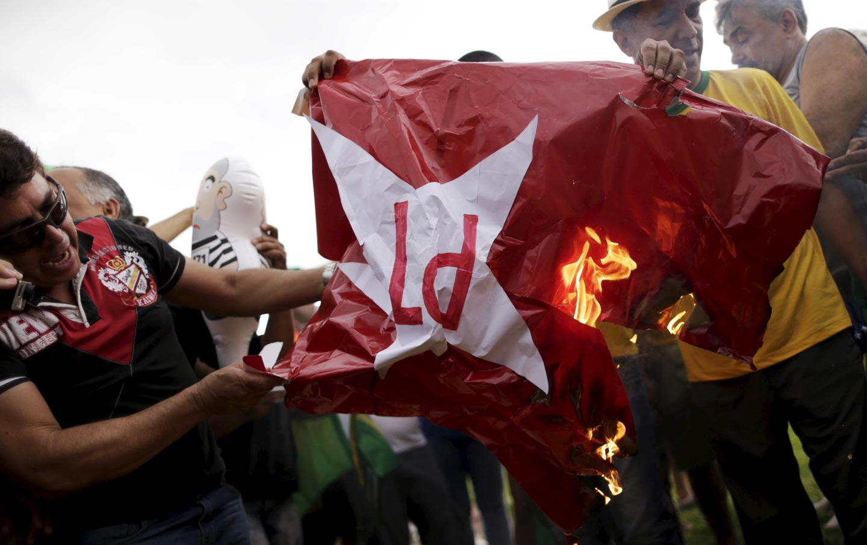 Brazil PT protest