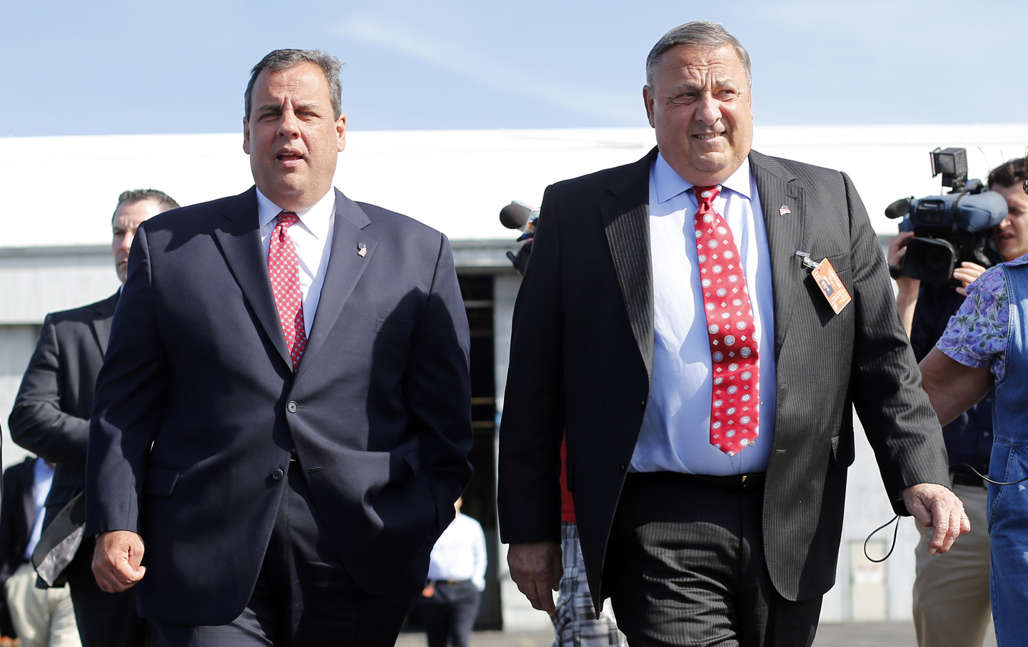 Chris Christie, Paul LePage