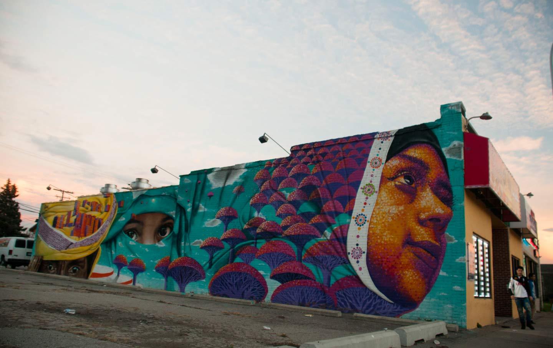 Hamtramck mural