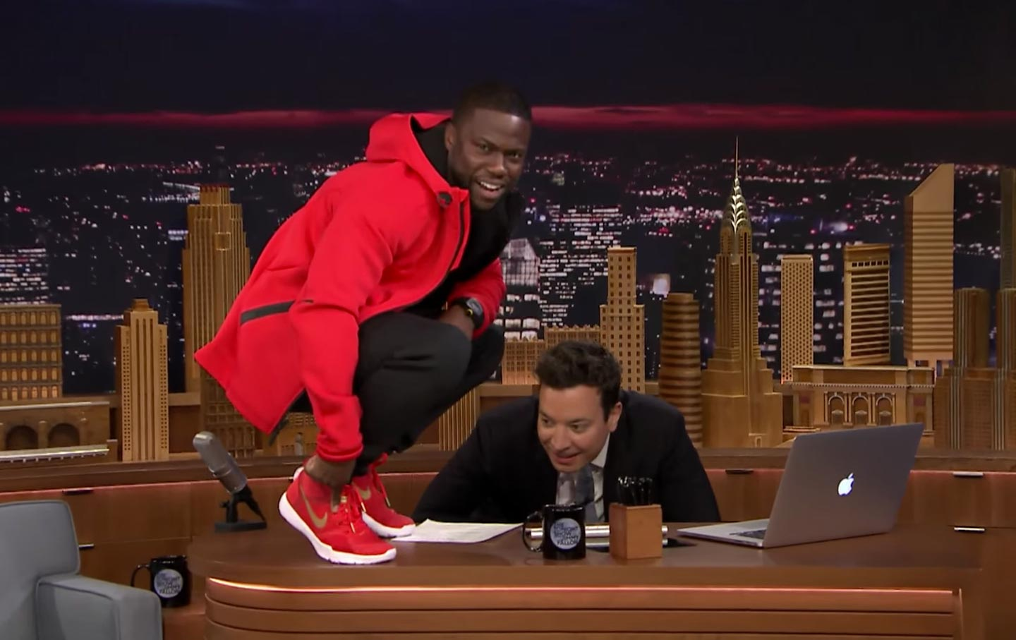Kevin Hart on Jimmy Fallon