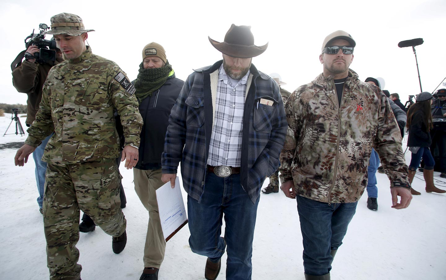 Malheur Wildlife Refuge occupation