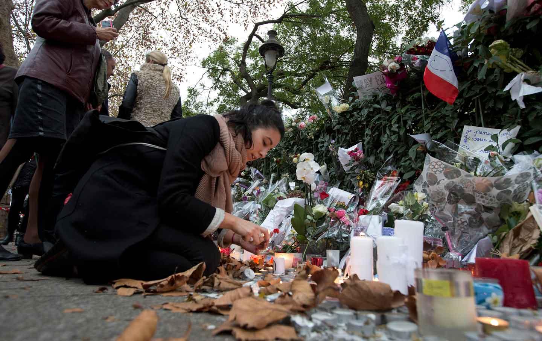 Mourning Paris Attack