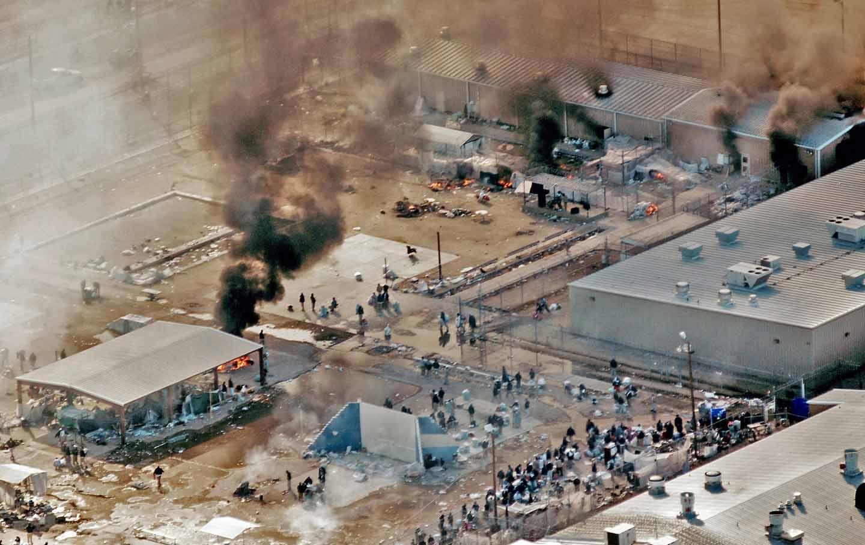 Reeves riot