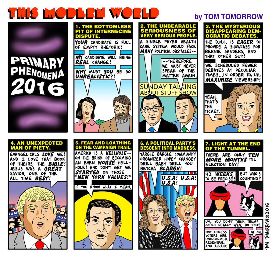 Tom Tomorrow cartoon for January 26, 2016