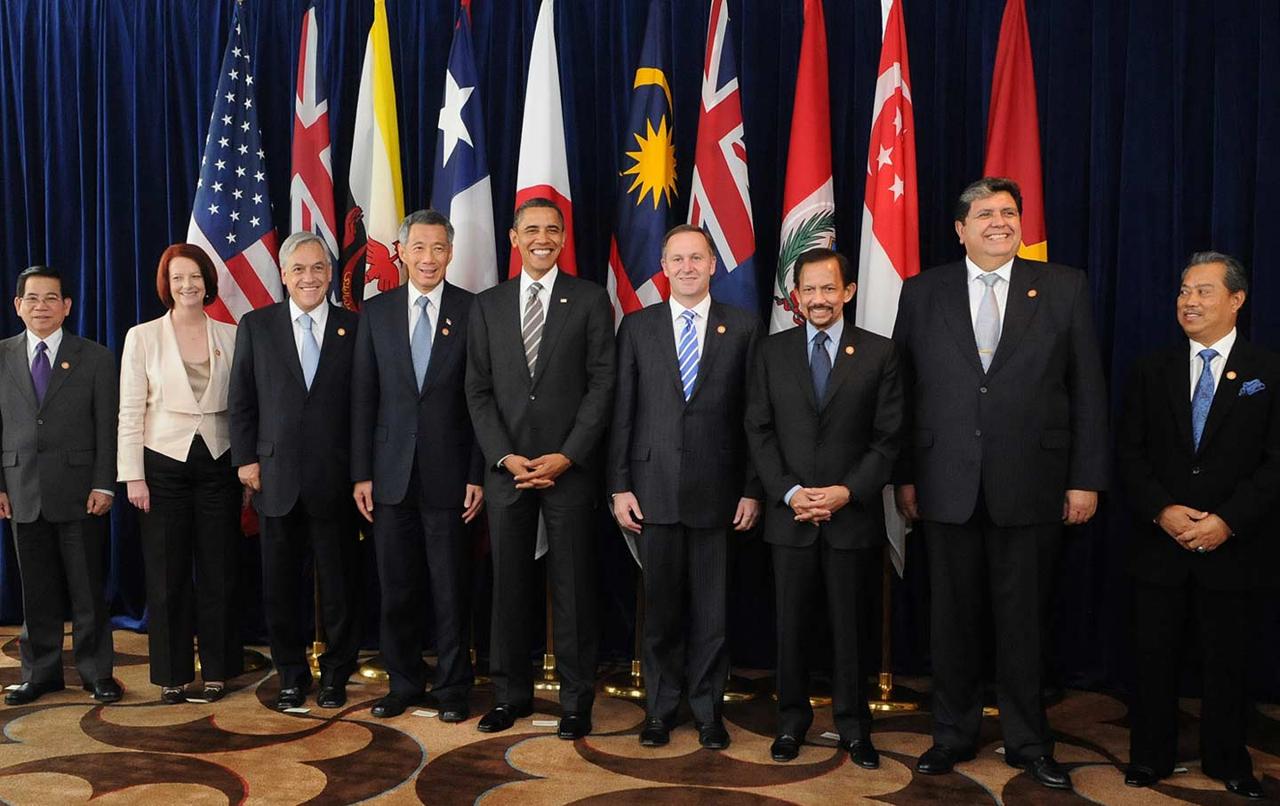Leaders of member states of the TPP