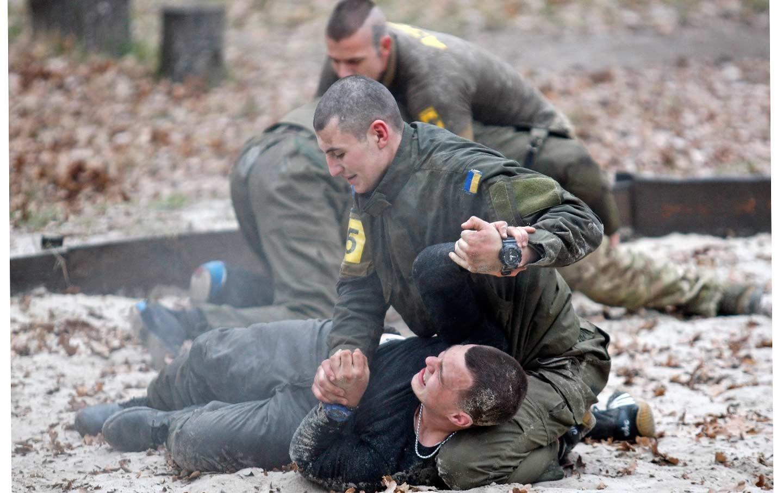 Ukrainian volunteer battalion Azov