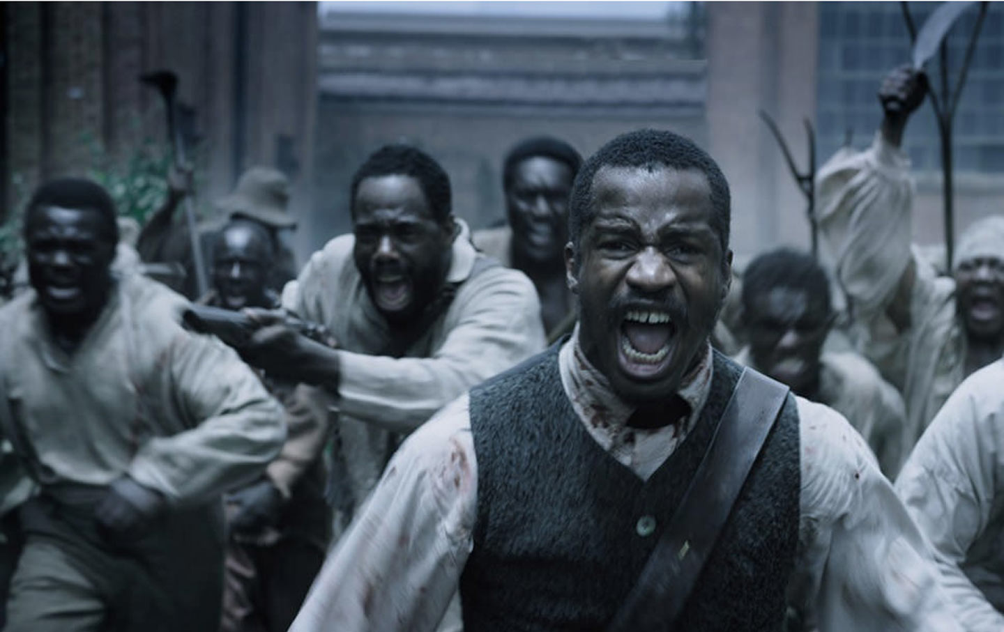 The Birth of a Nation scene