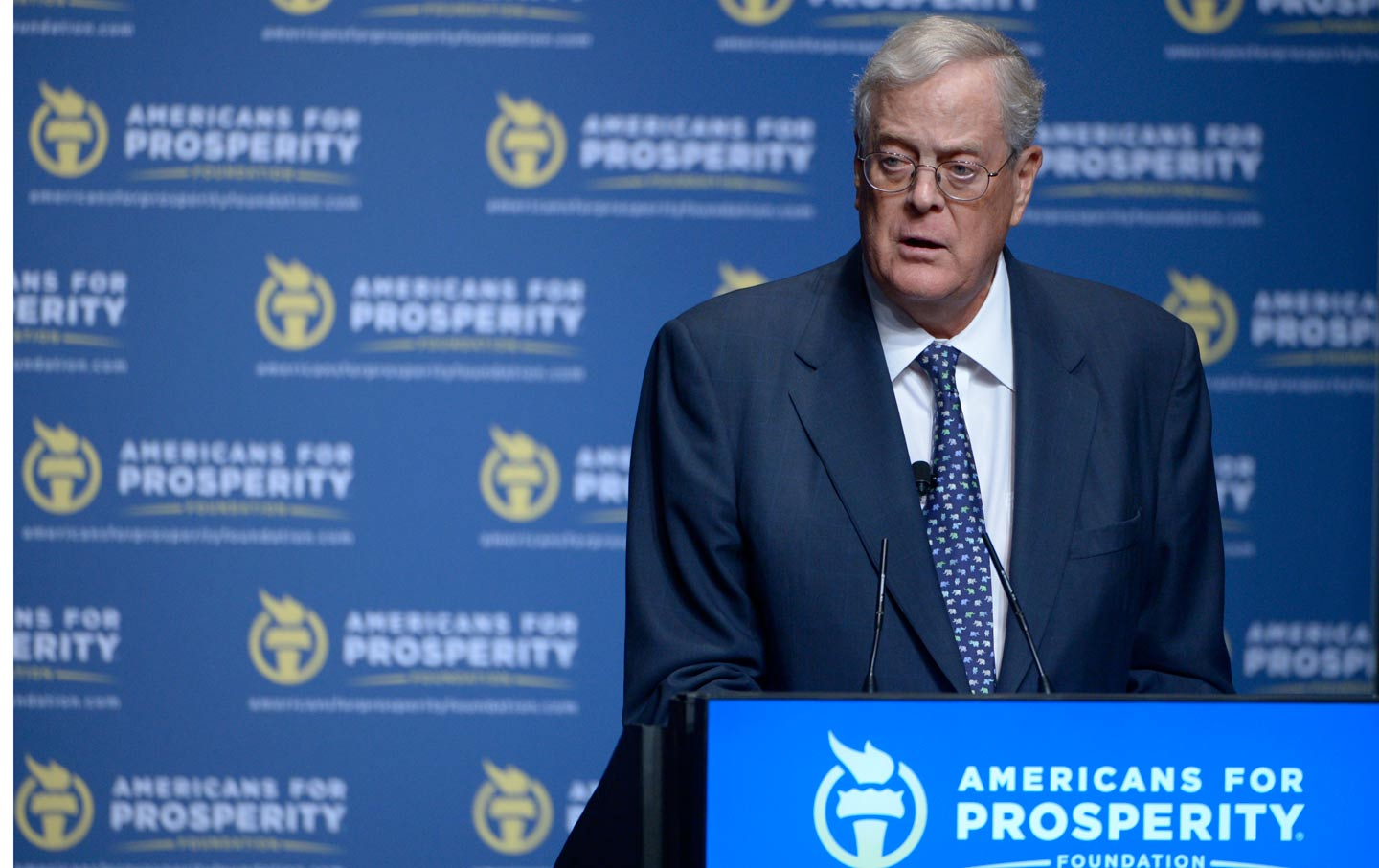 Charles David Koch We Know Who You Are >> David Koch Got What He Paid For The Nation
