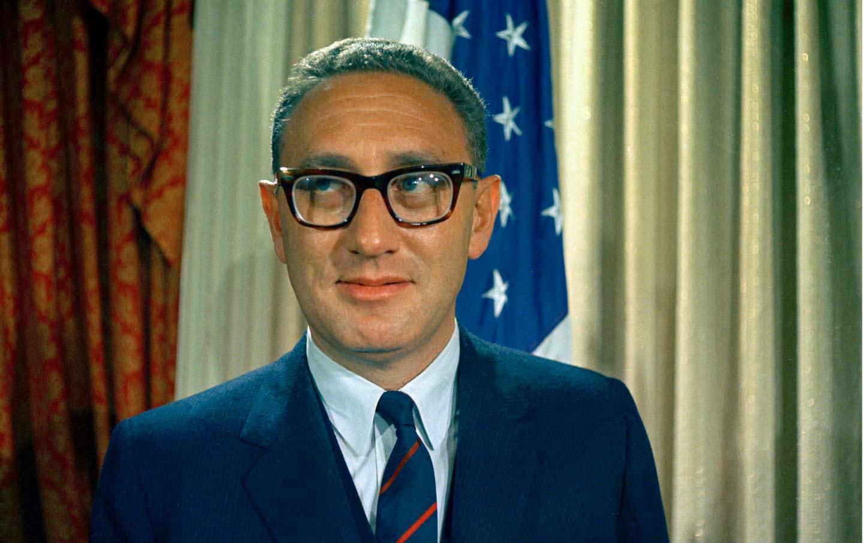 Henry Kissinger, December 1968.