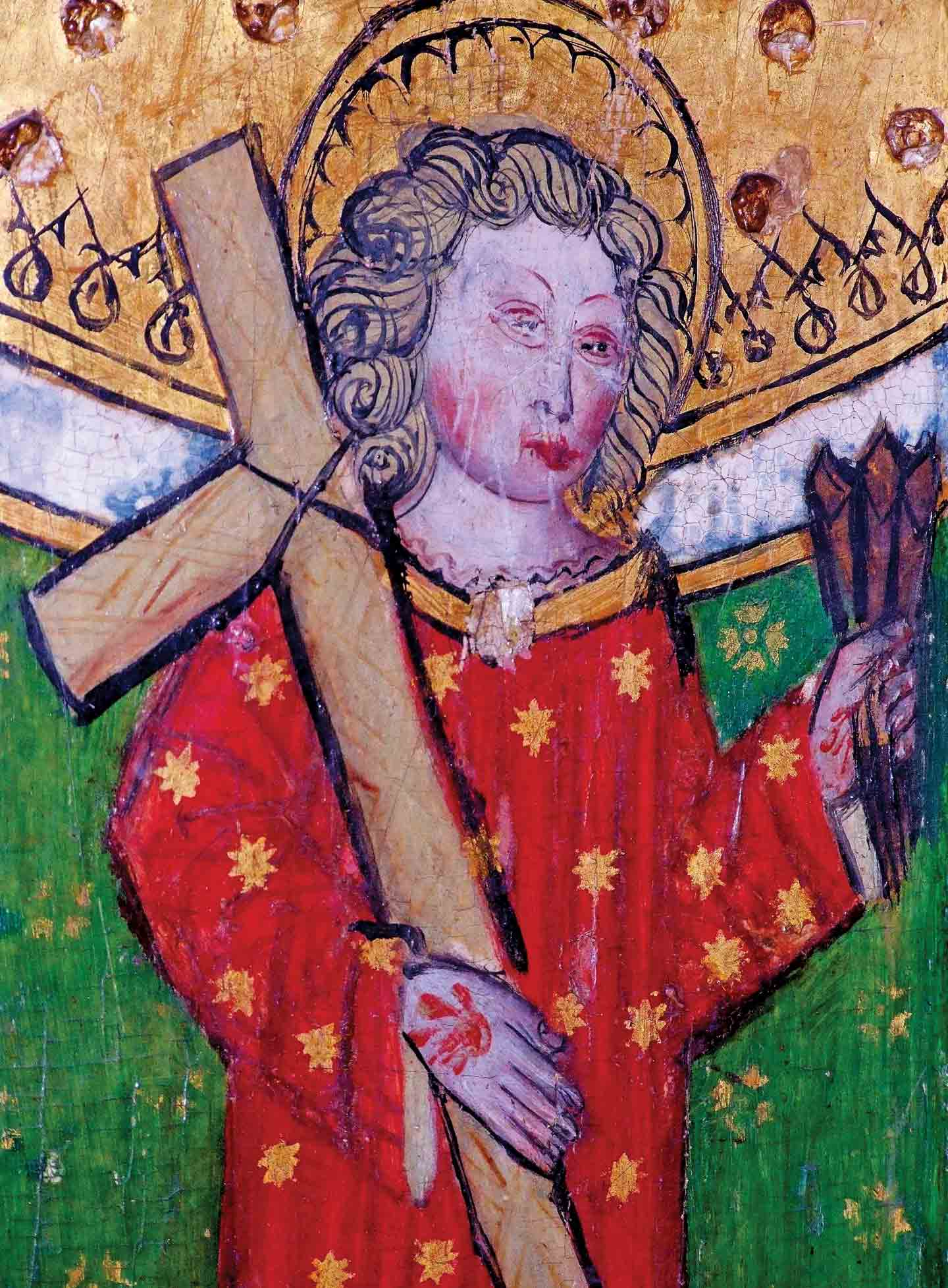 An anonymous painting from the 15th century of St. William of Norwich.