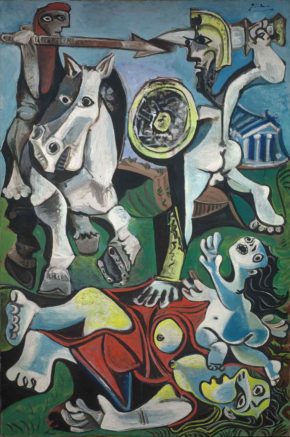 Pablo Picasso: Rape of the Sabine Women