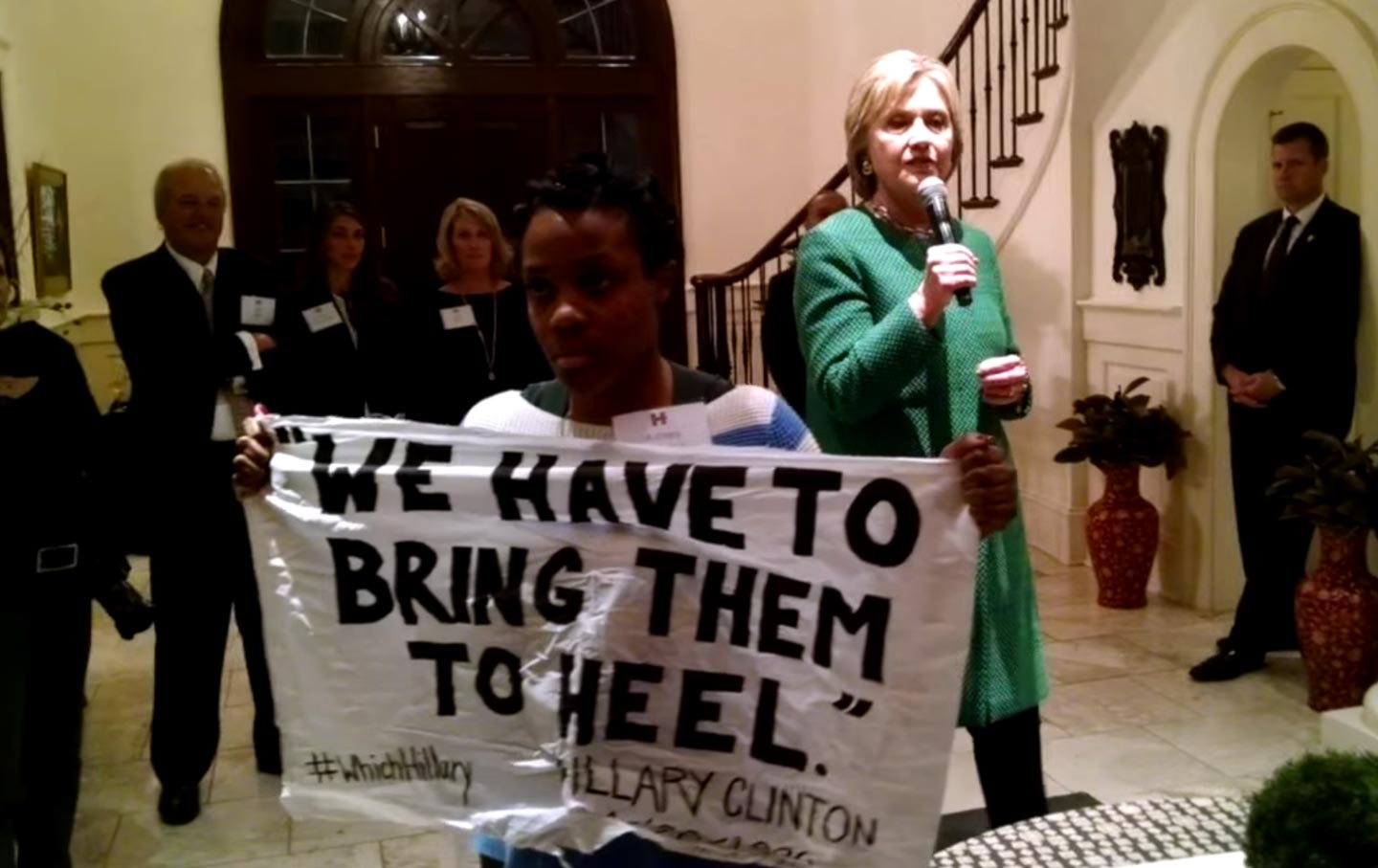 #WhichHillary? #BlackLivesMatter Activist Demands Apology from Clinton for
