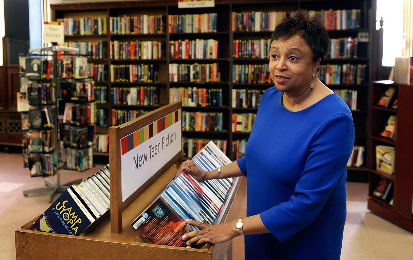 This Radical Librarian May Soon Run The World S Largest