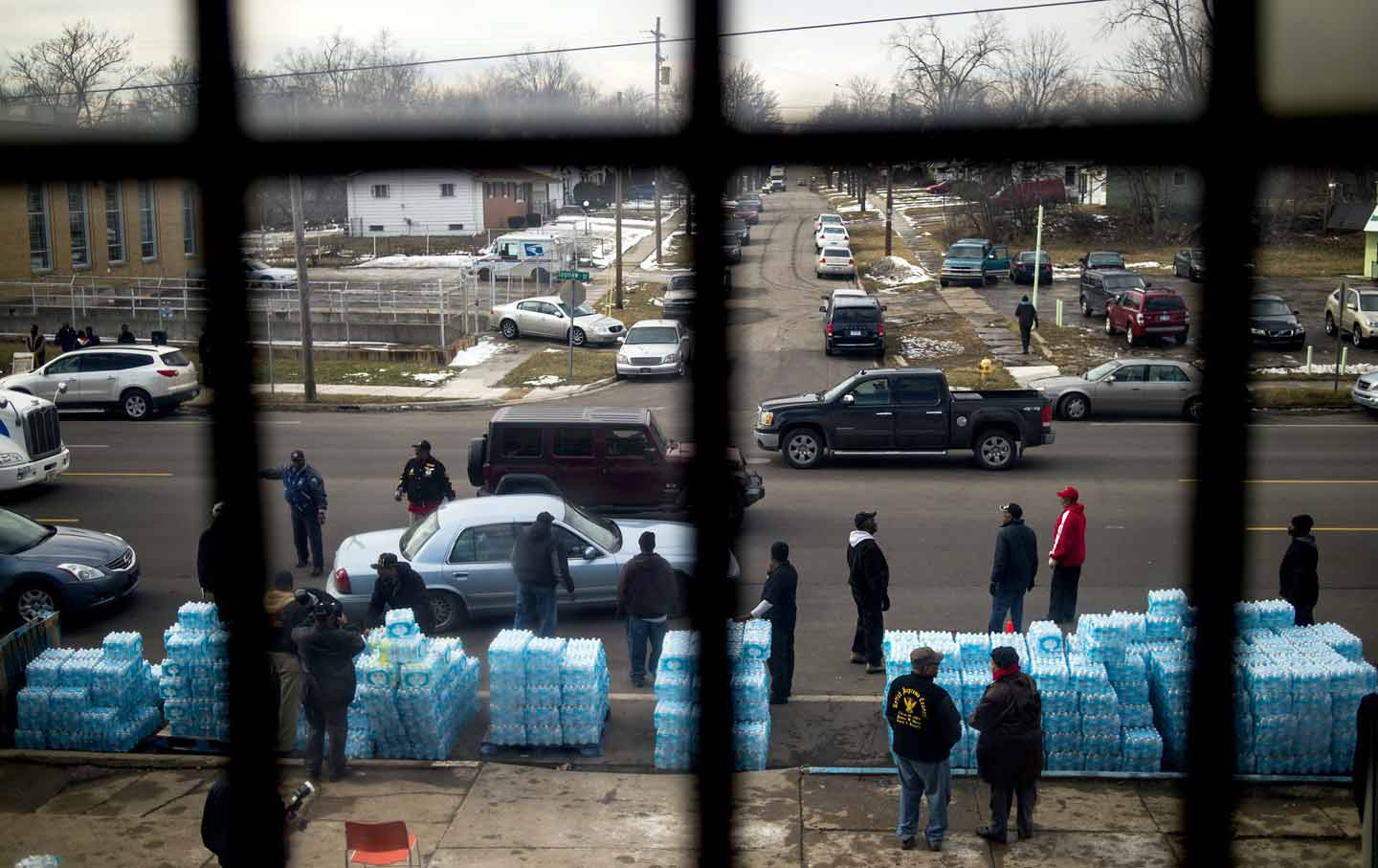 Flint bottled water