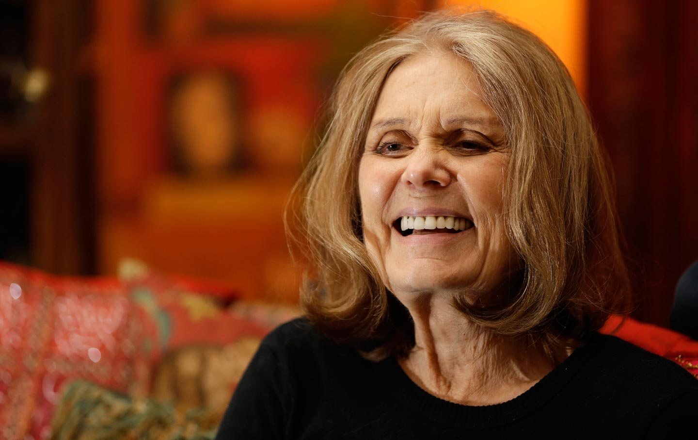 Gloria steinem at her home in new york in 2015 ap photo seth wenig