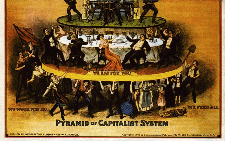 Anti-capitalism poster