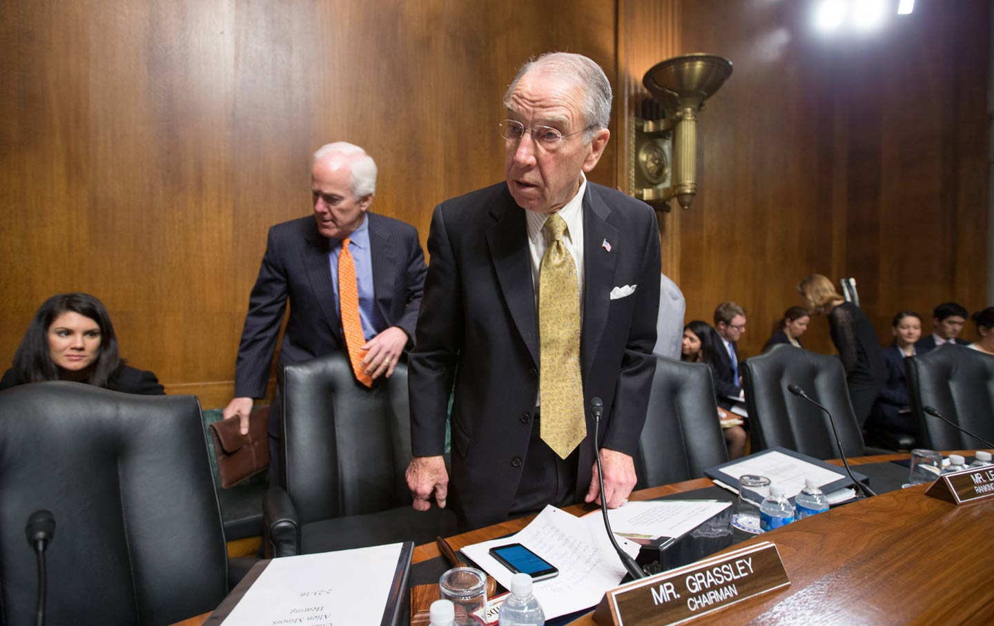 Image result for chuck grassley judiciary committee