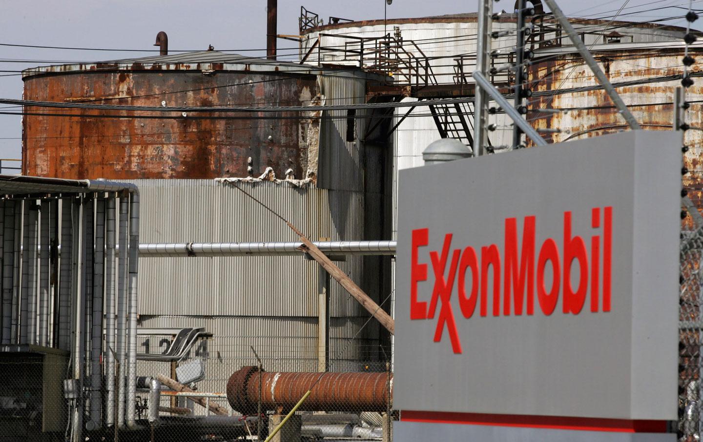 An Exxon Mobil refinery in Baytown, Texas