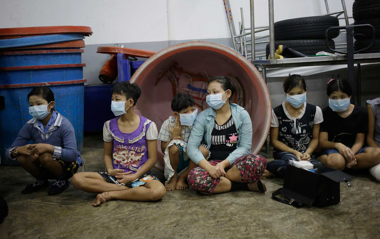 Child workers in Thailand