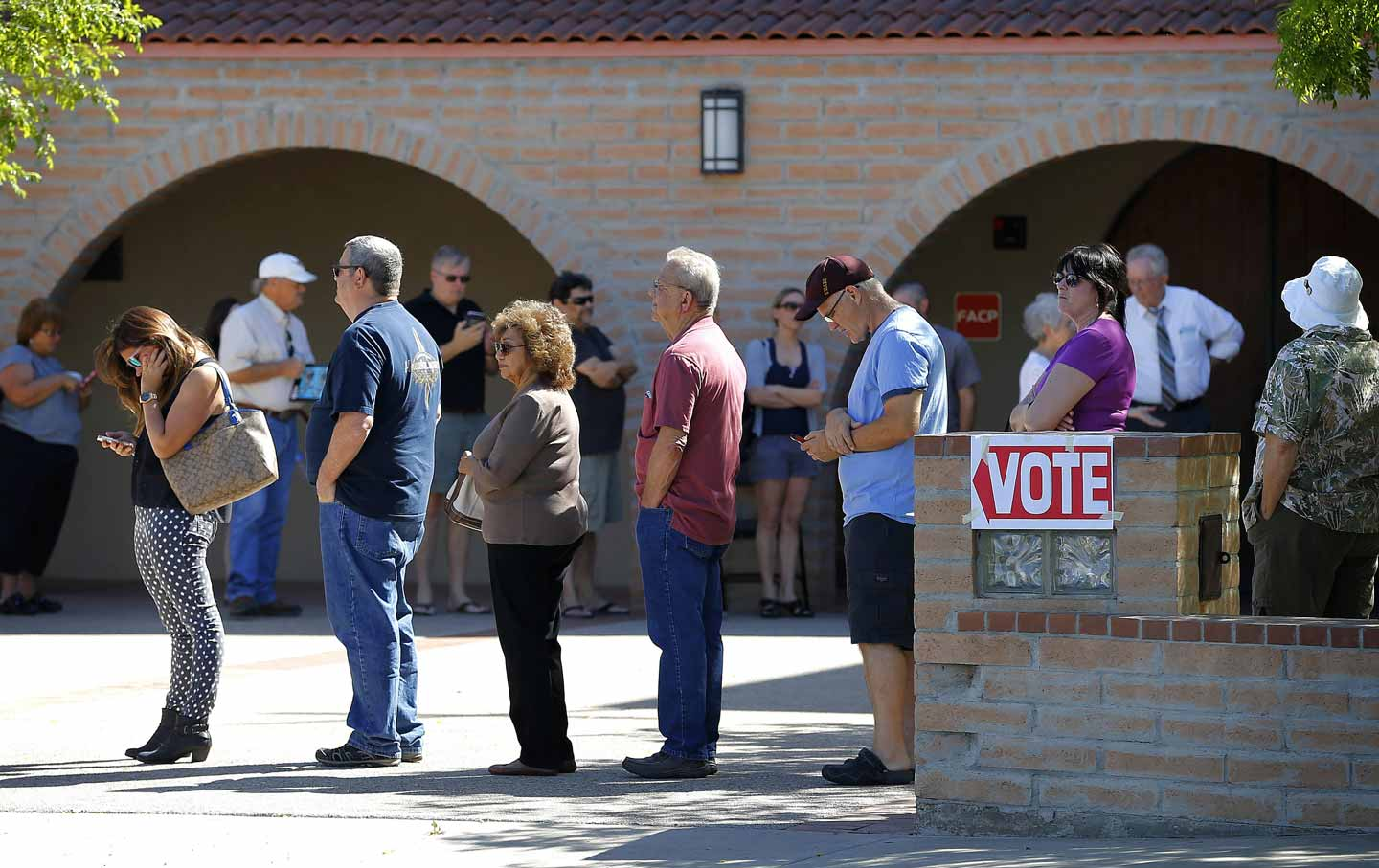 There Were 5-Hour Lines to Vote in Arizona Because the Supreme Court Gutted the Voting Rights Act