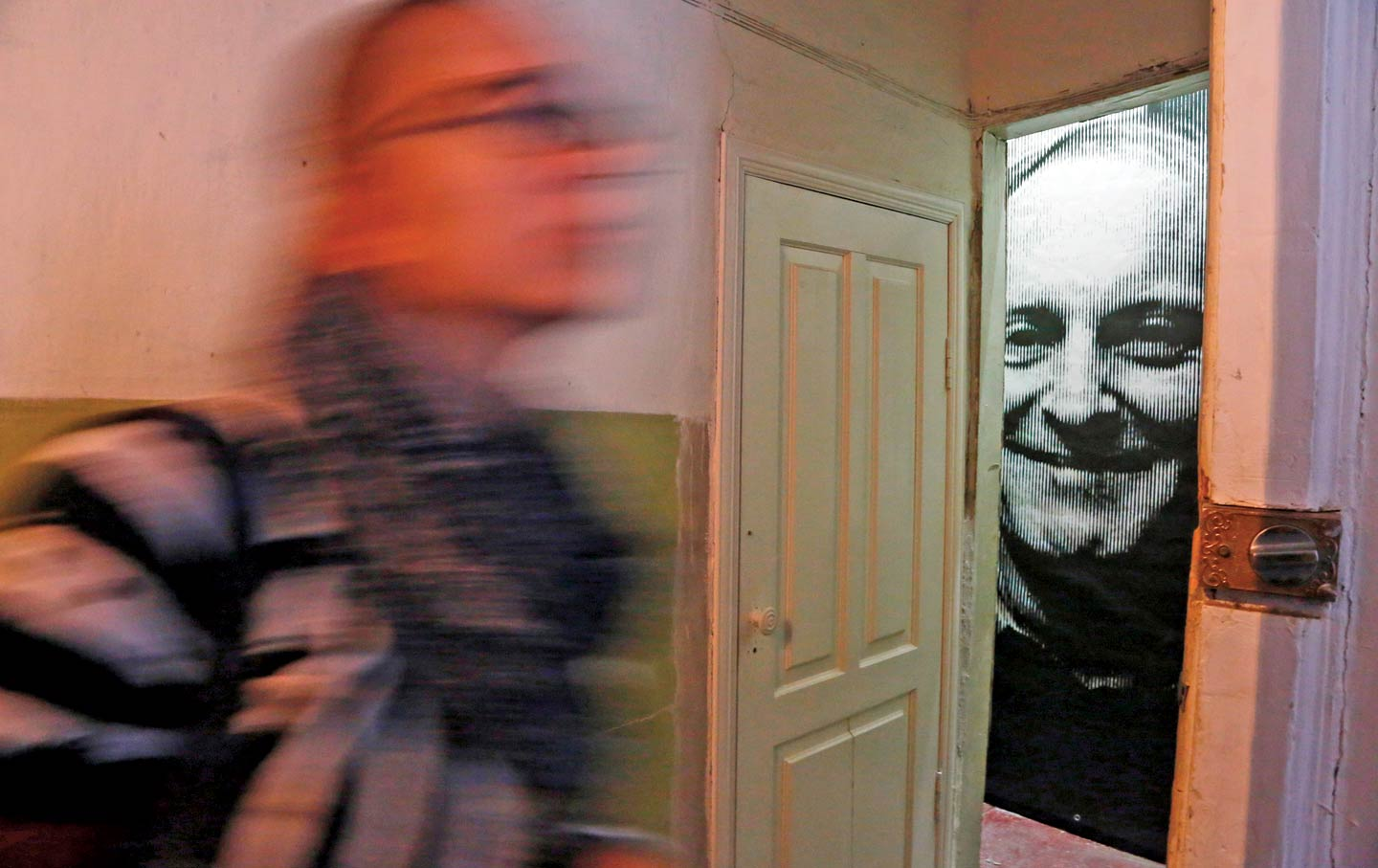 Joseph Brodsky's childhood apartment is now a museum in St. Petersburg, Russia.