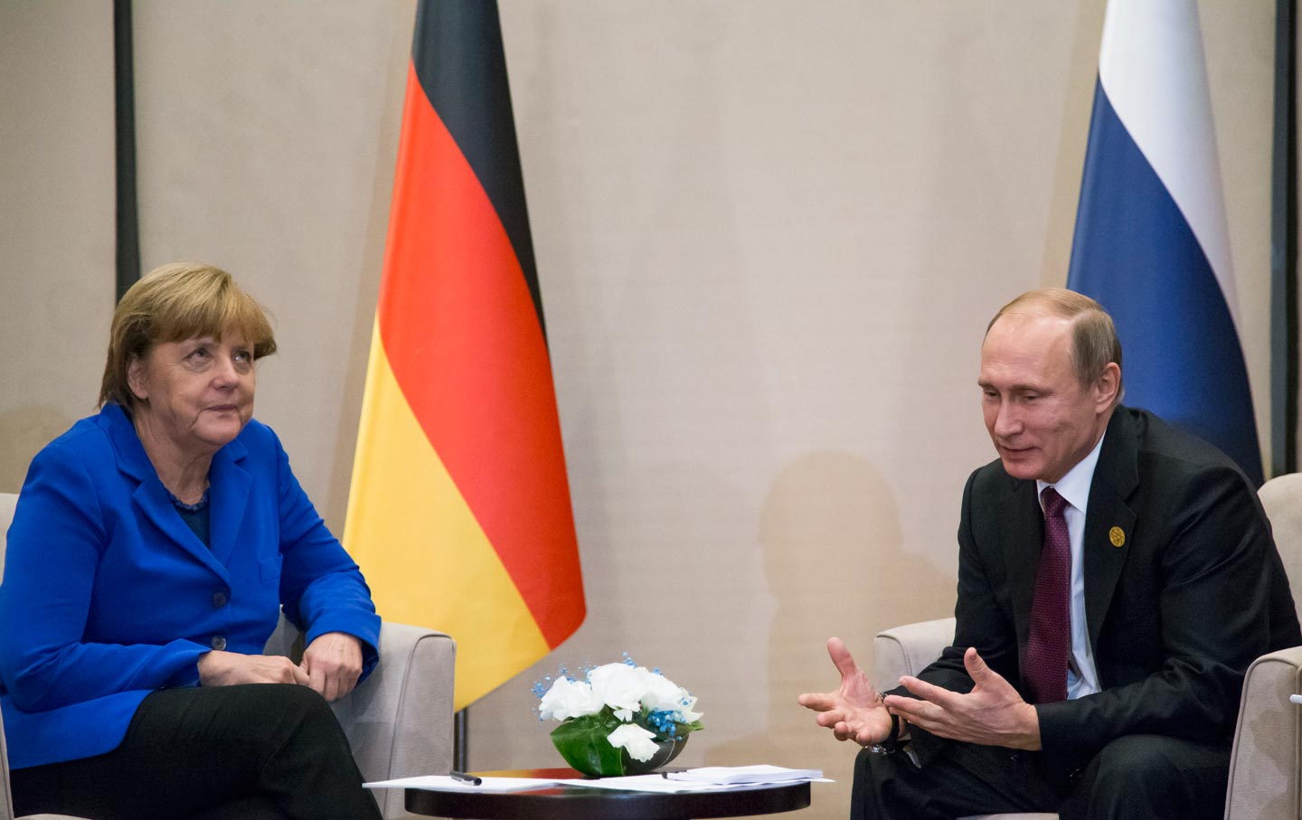 Russia, Europe's Scapegoat for All Seasons