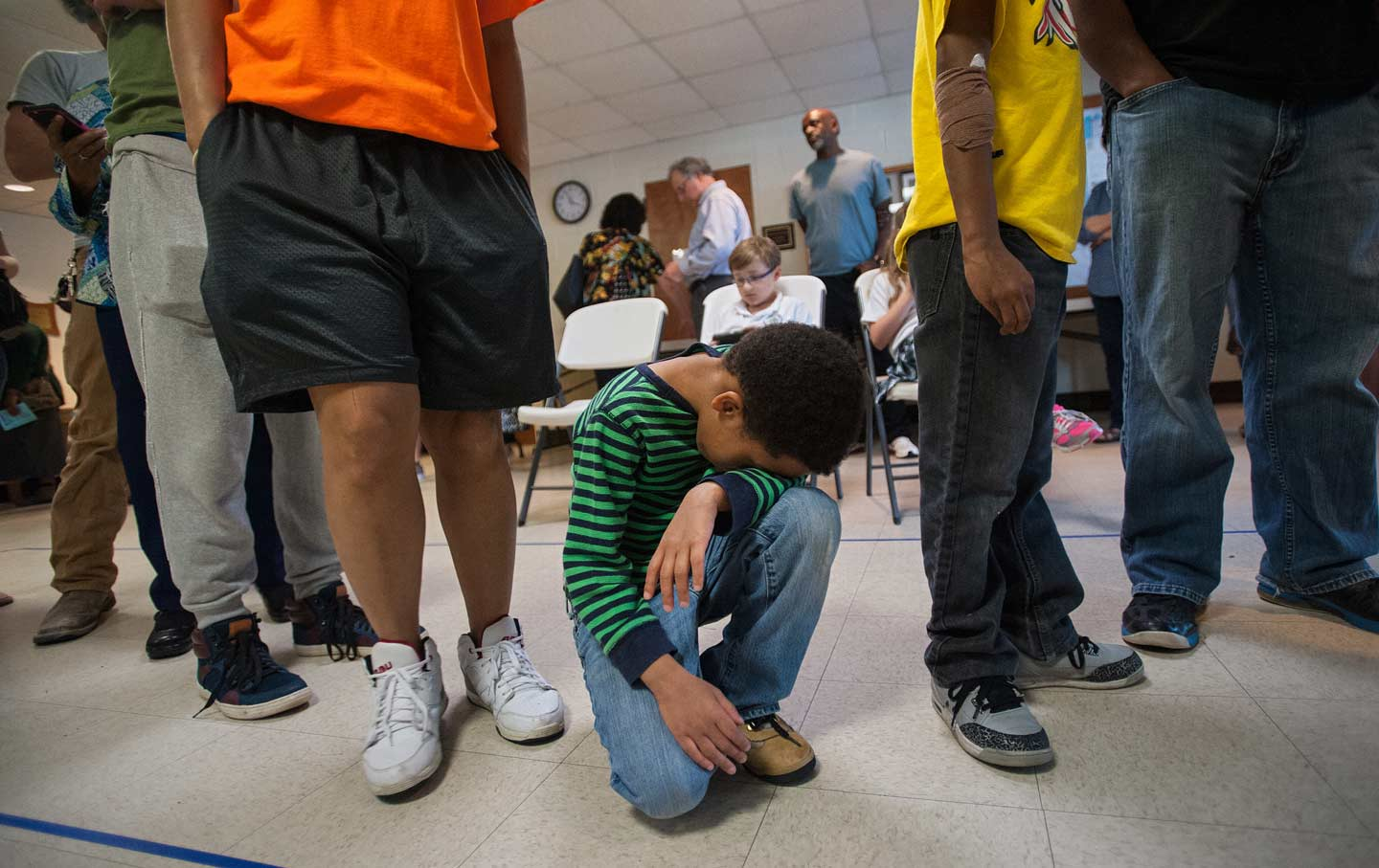 our addiction to elections is killing american democracy the nation brandon lee 7 waits in line his family as they prepare to vote at hope valley baptist church in durham north carolina on tuesday 15 2016