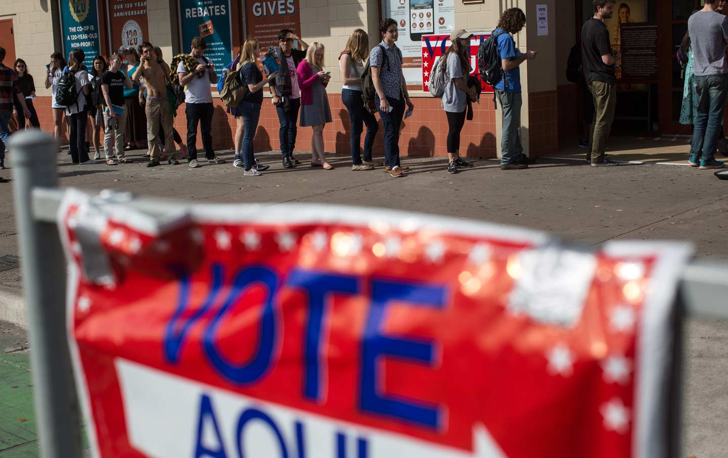Voters Were Blocked From the Polls on Super Tuesday by New Restrictions