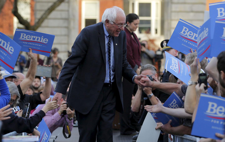 Bernie Sanders Mounts An Independent Democratic Challenge To Media