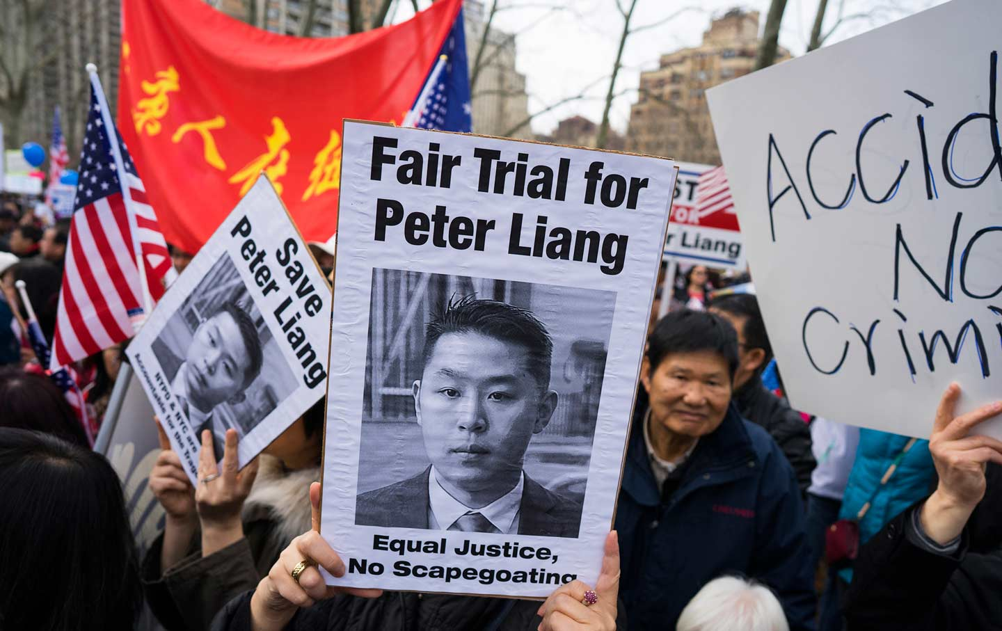 Peter Liang Protest