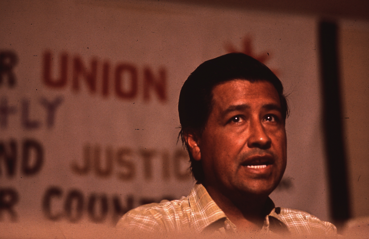 Cesar Chavez in July, 1972.