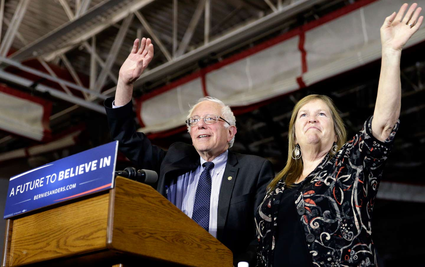 Bernie and Jane Sanders